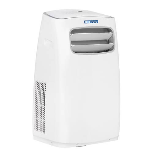 norpole 12 000 btu portable air conditioner 10 000 btu heater stoneberry. Black Bedroom Furniture Sets. Home Design Ideas