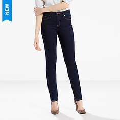 Levi's Misses Mid Rise Skinny Jeans
