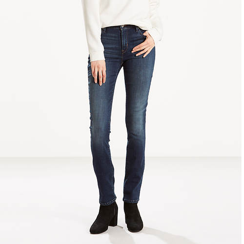 Levi's Misses Mid Rise Skinny Jeans