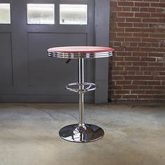 AmeriHome Retro Soda Shop Table