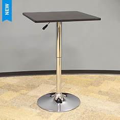 AmeriHome Wood Top Square Bistro Table