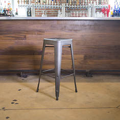 AmeriHome Loft Metal Bar Stool