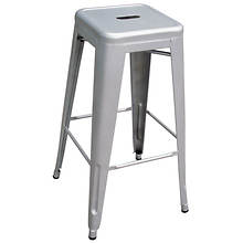 AmeriHome Loft Metal Bar Stool