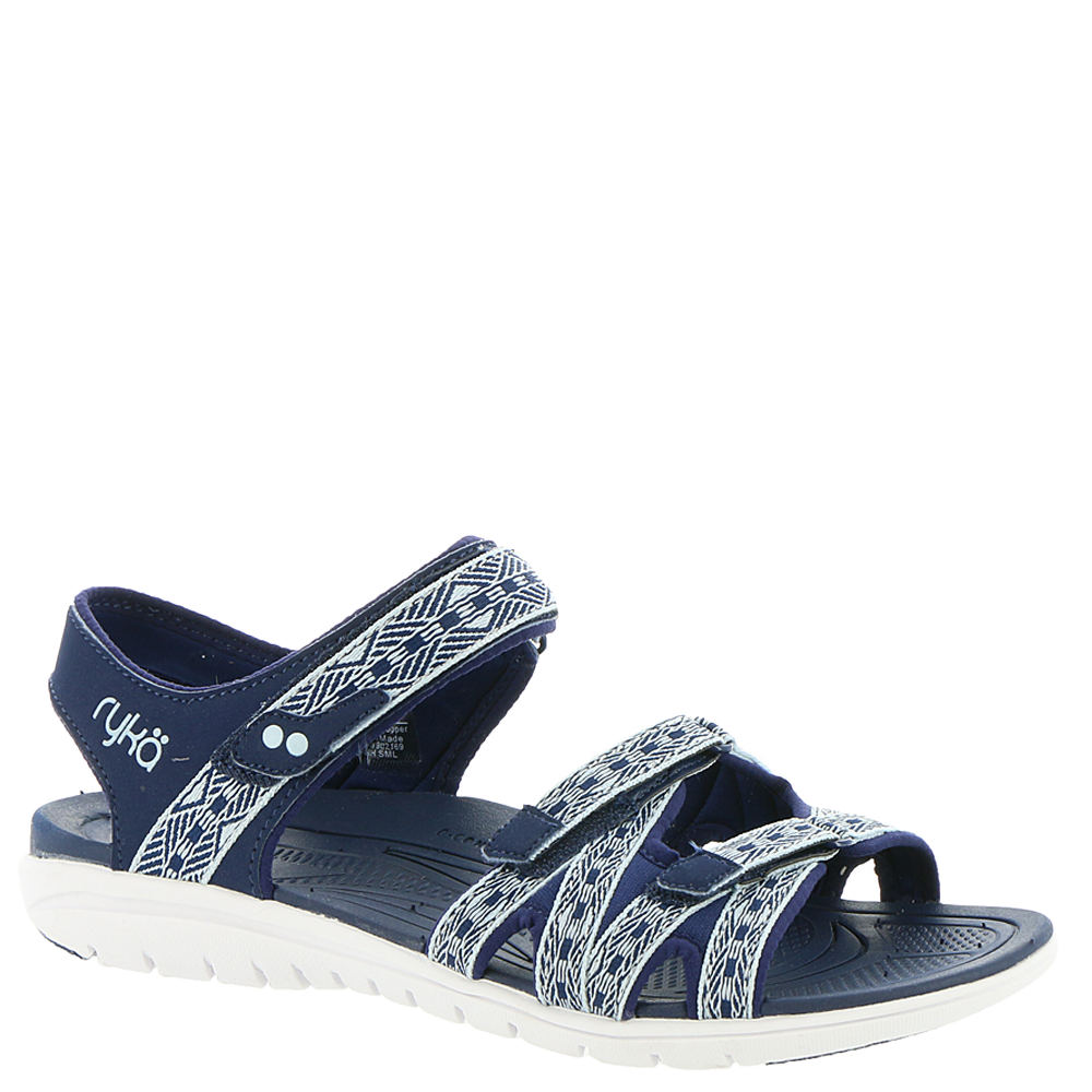 8abe06e99d4 Ryka Women s Savannah Strappy Sandal Blue blue Pu fabric 9.5 W