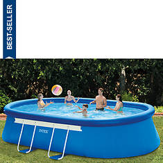 Intex 18'x10'x42' Oval Pool Set