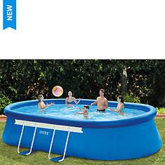 Intex 18'x10'x42' Oval Pool Set