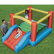 Little Tikes® Inflatable Jump 'N Slide Bouncer