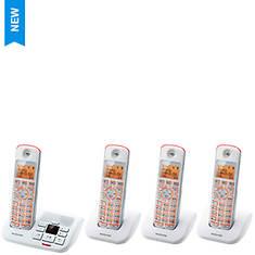 Motorola Cordless Phone System - Base Unit plus 3 Handsets - Opened Item