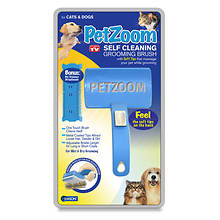 PetZoom Grooming Brush