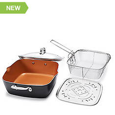 Gotham Steel Deep Square Pan
