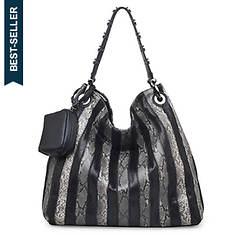 Urban Expressions Amara Snake Women's Hobo Handbag
