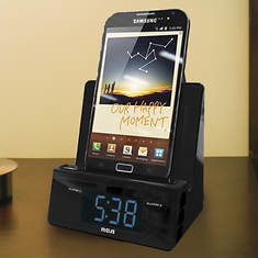RCA Alarm Clock Charging Station