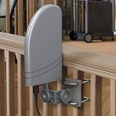 RCA Indoor/Outdoor Amplified HDTV Antenna