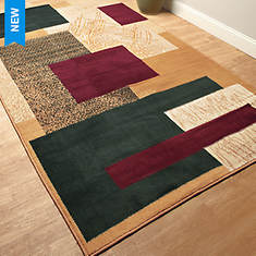 7'x10' Fashion Patterned Area Rug