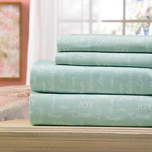 Inspirational 300-Thread Count Sheet Set-Aqua