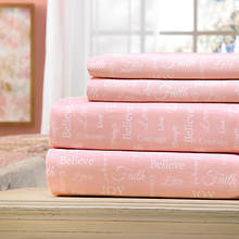 Inspirational 300-Thread Count Sheet Set-Pink