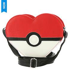 Loungefly Pokemon Heart Target Crossbody Bag