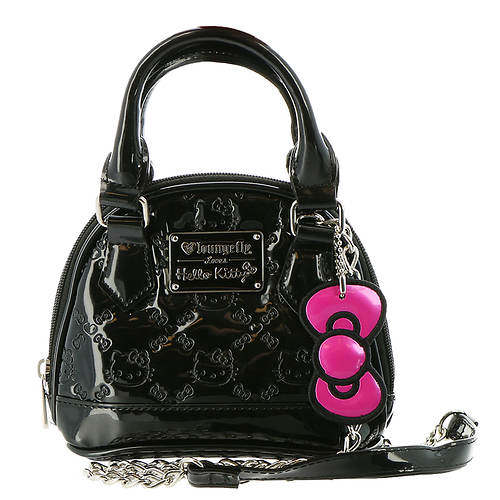 8164ca792 Loungefly Hello Kitty Patent Micro Dome Crossbody Bag - Color Out of Stock  | FREE Shipping at ShoeMall.com