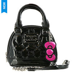 Loungefly Hello Kitty Patent Micro Dome Crossbody Bag