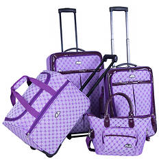 American Flyer Milan 4-Piece Luggage Set