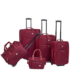American Flyer Monte Carlo 5-Piece Luggage Set