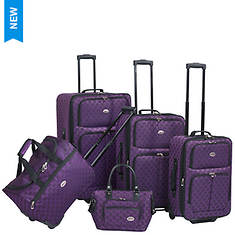 American Flyer Monte Carlo 5-Piece Luggage Set