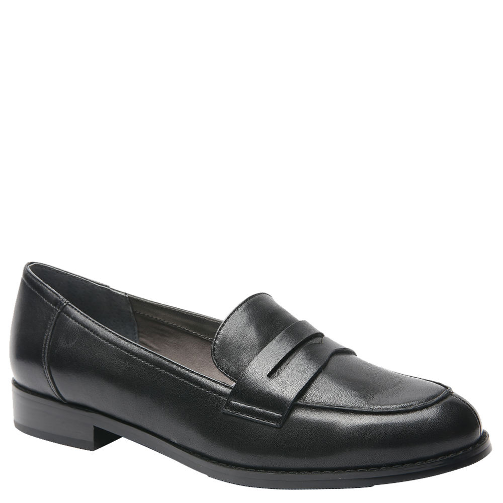 1950s Style Shoes | Heels, Flats, Boots Ros Hommerson Delta Womens Black Slip On 6.5 S $139.95 AT vintagedancer.com