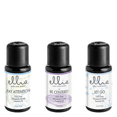 Ellia by Homedics Essential Oil 3-Pack