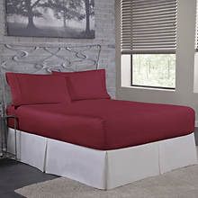 BedTite™ Microfiber Sheet Set-Burgundy