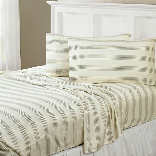 Regent Stripe 300-Thread Count Sheet Set