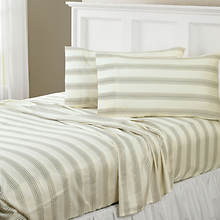 Regent Stripe 300-Thread Count Sheet Set-Taupe