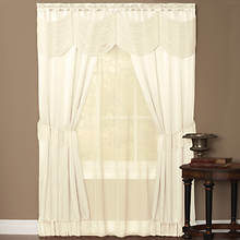 Halley 6-Pc. Window Set-Ivory