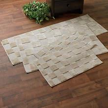Square 4-Pc. Rug Set-Sand