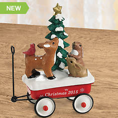 2015 Limited Edition Red Wagon Ornament