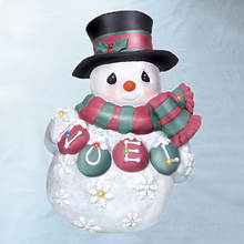Precious Moments® LED Snowman Plaque