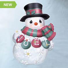 Precious Moments® LED Snowman Plaque