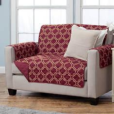 Adalyn Furniture Protector-Loveseat-Burgundy