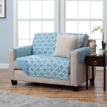 Adalyn Furniture Protector-Recliner-Blue