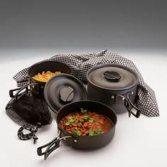 The Scouter Hard Anodized Cookware Set - Opened Item