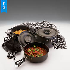 The Scouter Hard Anodized Cookware Set