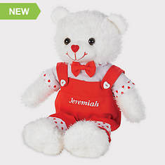 Personalized Valentine Bears - Boy