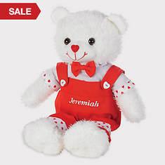Personalized Valentine Bears - Boy