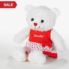 Personalized Valentine Bears - Girl