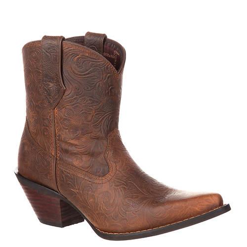 Durango Crush Vintage Embossed Bootie (Women's)