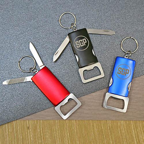 Personalized Bottle Opener Key Chain