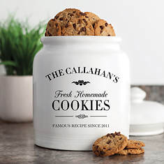 Personalized Cookie Jar-Family Cookie Jar