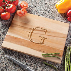 Personalized Maple Wood Cutting Board
