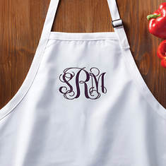 Personalized Apron-Monogram