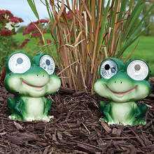 Smart Solar Garden Pals-Set of 2-Frog