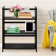 Casual Home Montego 3-Shelf Folding Bookcase